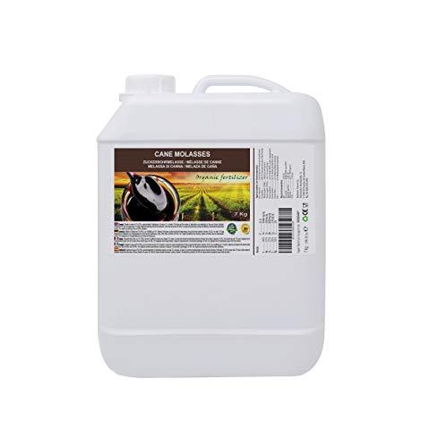 Melaza de caña 7kg, fertilizante natural. Enriquecida en minerales. Producto CE.: Amazon.es: Jardín