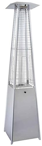 Phat Tommy Outdoor 91'' Quartz Glass Tube Stainless Steel Heater – for Garden & Backyard Patio Furniture by Phat Tommy