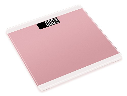 Price comparison product image Qingta Digital Bathroom Body Weight Scale with High-intensity Tempered Glass(Pink)