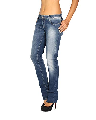 Fit Para Mujer Azul Monie w vaquero Meltin'pot Female Jeans RTnPfv
