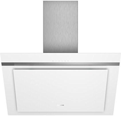 Siemens iQ300 LC87KHM20 Wall-mounted cooker hood Color blanco 680m³/h A - Campana (680 m³/h, Canalizado/Recirculación, A, A, C, 56 dB): 419.68: Amazon.es: Hogar