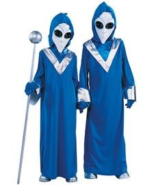 Creepy Girls Little Halloween Costumes For (Complete Alien Costume -)
