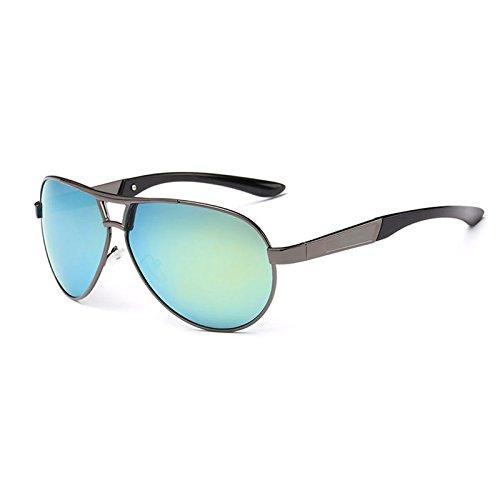 Unisex De Polarizadas La De De Pesca Que Reflexivas Gungraygoldsilver Gafas Gafas UV400 Sol Las Sol Conducen qEtdnwp7wx