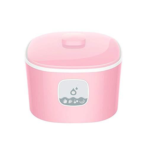 220V 15w 1L Yogurt maker Rice wine green/pink High glass liner Fully automatic 210x140mm