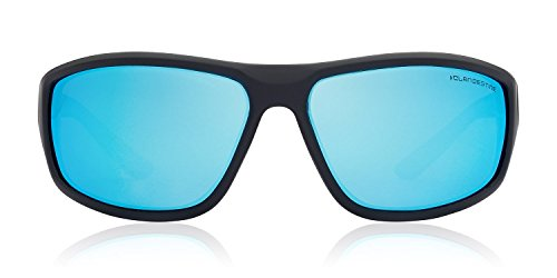 Polarizadas Negro CLANDESTINE Curve sol Hombre Claro Gafas amp; Square Mujer Azul Mate Curve amp; de Ywq4ZY