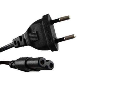 EU EUROPEAN 2-Slot to Standard Power Cord  Dual Pin Non-