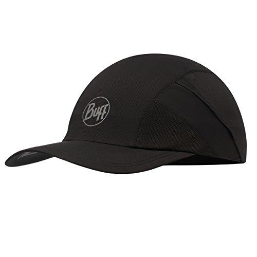 BUFF Pro Run Cap, R-Black, One Size