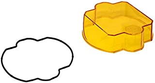 product image for Baja Designs 66-8611 - Square Amber Plastic Spot Beam Lens for LP9 Series
