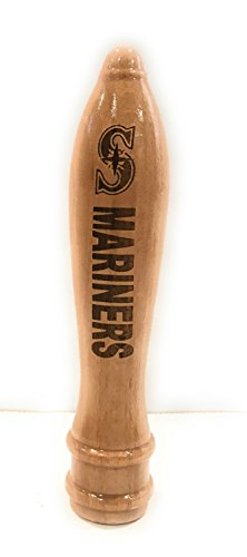 Seattle Mariners Engraved Pub Style Beer Tap Handle Natural