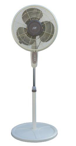 SPT SF-1666M Oscillating Misting Fan, 16-Inch by SPT