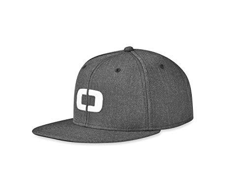 - OGIO Alpha Core Icon Snap Back Hat Men's Headwear), Charcoal Heather, Adjustable