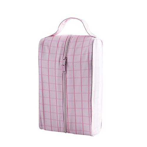 MOPOLIS Travel Sports Storage Bags Waterproof Packing Clip Bags Container Organizer Case (Color - Pink)