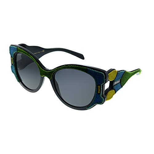 Prada Women's 0PR 10US Azure/Yellow/Green/Grey One ()