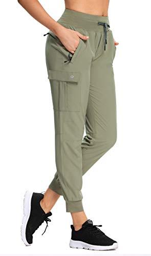 RlaGed Women's Lounge Cargo Hiking Pants
