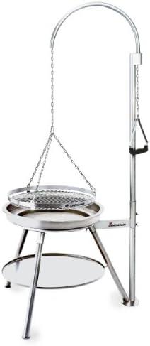 Landmann - 11065 - Barbecue Charbon Suspendu Geos Inox