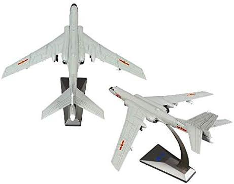 No Alloy Air Force H-6K 2 Pack 1/144, Modelo de Juguete de Combate de Aviones, Decoración de estantería de Escritorio de Escritorio de Oficina en casa: Amazon.es: Hogar