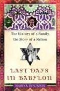 Last Days in Babylon: The History of a Family, the Story of a Nation ebook