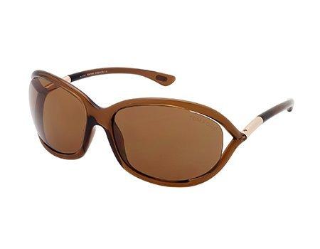 Tom Ford JENNIFER TF08 Sunglasses Color 48H - Ford Sunglasses Brown Tom Jennifer