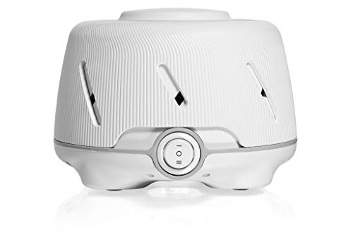Marpac Dohm (White/Gray) | The Original White Noise Machine | Soothing Natural Sound from a Real Fan | Noise Cancelling | Sleep Therapy, Office Privacy, Travel | For Adults & Baby | 101 Night Trial (Natural White)