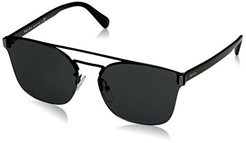 Prada  Men's 0PR 67TS Black/Grey - Prada Sunglasses Authentic