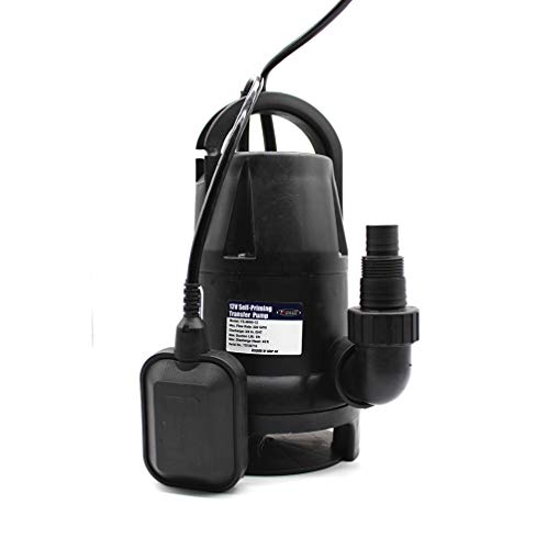 - FPOWER 1/2 HP Submersible Utility Pump Clean/Dirty Water Sump Pump with Automatic ON/Off Float Switch for Fountain, Pond, Pool, Aquarium, Cisterns