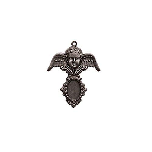 Spellbinders GL2-009S A Gilded Life Cherub - Silver Pendant