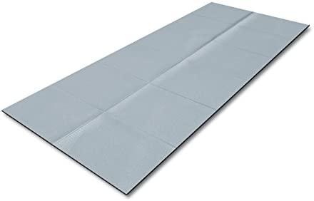 Rovera - Esterilla plegable para yoga, color gris