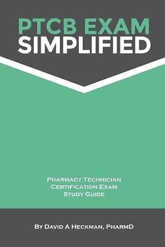 ptcb exam simplified pharmacy technician certification exam study rh amazon com ptcb study guide 2016 free ptcb study guide 2018