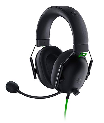 Razer Blackshark V2 X - Premium Esports Gaming Headset (wired headphones with 50mm driver, noise reduction for PC, Mac, PS4, Xbox One and Switch)