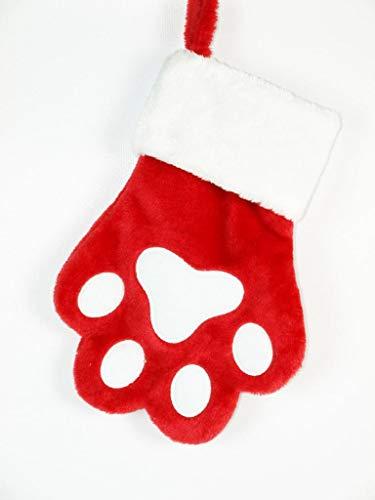 Stocking Season (Seasons Designs Dog Paw Print Pet Holiday Christmas Stocking)