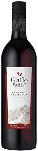 Gallo Family Vineyards Cabernet Sauvignon Ernest und Julio 2015/2016 Halbtrocken (6 x 0.75 l)