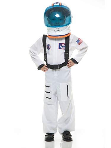 Charades Astronaut Suit Children's Costume, White,
