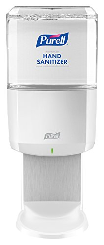 PURELL ES6 Hand Sanitizer Touch-Free Dispenser, White, Dispenser for PURELL ES6 1200 mL Sanitizer Refills - 6420-01