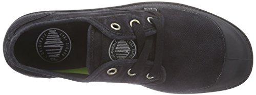 Palladium Pampa Oxford LP - Zapatillas Mujer Negro - Schwarz (Black/Wild Dove)