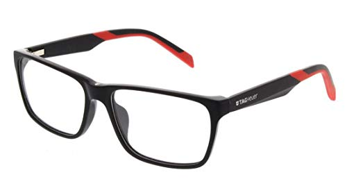 New Tag Heuer B Urban Eyeglasses - 0552 006 - Black/Red ()