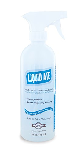 PetSafe Liquid-Ate All-Purpose Enzyme Cleaning Solution, Dog and Cat Odor Eliminator