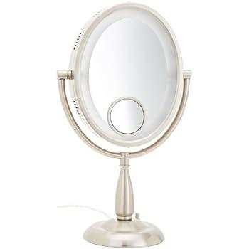 Amazon Com Jerdon Hl745nc 8 5 Inch Halo Lighted Vanity