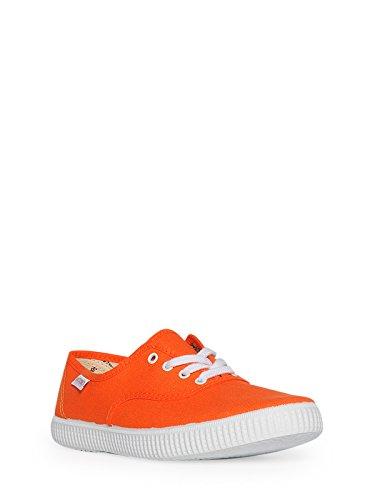 Victoria Inglesa Lona,–Zapatillas deportivas unisex, naranja (Mandariono), 39 EU