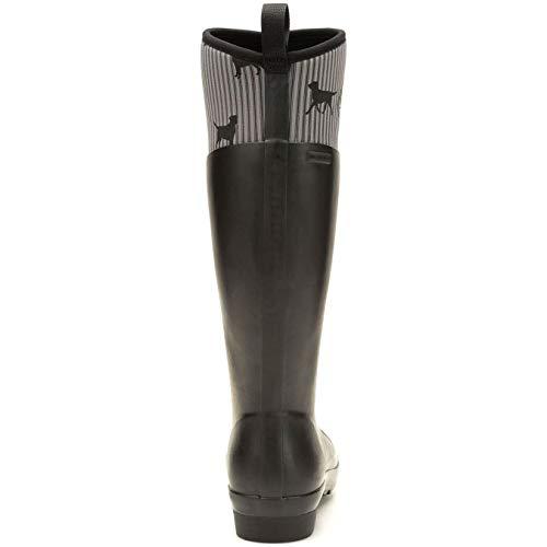 Provincial Donna Dog Black Boots Cqxrpxwz Stivali Print Muck nw6FCaqn0