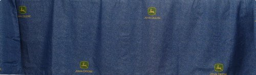 John Deere Bedding Denim Collection Bed Skirt, Queen Size