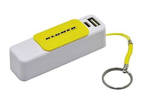 Kloner KPB26_Amarillo - Batería portátil externa tipo ...