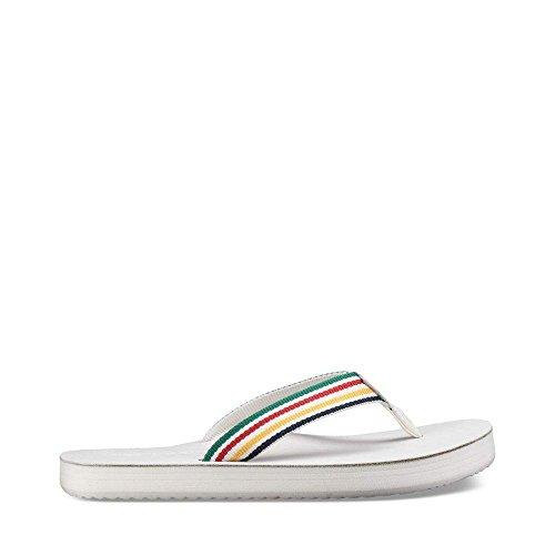 Teva - Women's Women's Women's Deckers Flip - Hudson's Bay - White - 5 B07DMCGJ3B Shoes 4260fa