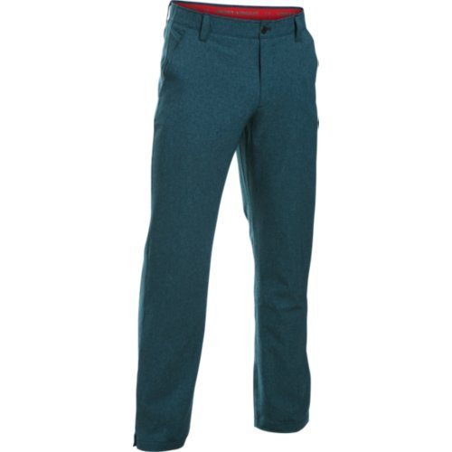 (アンダーアーマー) UNDER ARMOUR UA MATCH PLAY VENTED PANT B018JJNPJQ 38W x 34L|Nova Teal/Red Nova Teal/Red 38W x 34L