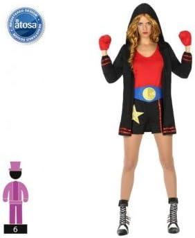 DISFRACES GILMAR Disfraz de Boxeadora - M/L: Amazon.es: Ropa y ...
