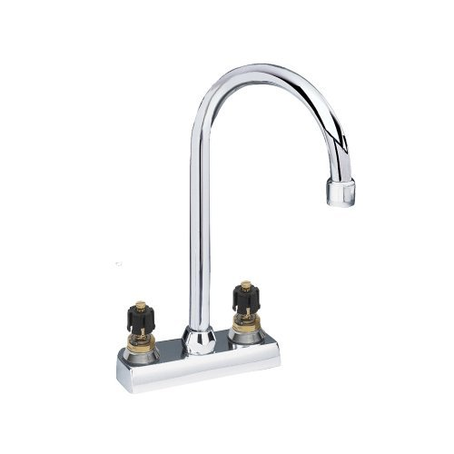 American Standard 7490.000.002 Heritage 4-Inch Centerset Bar Faucet Metal Handles, Polished Chrome American Standard Heritage Centerset