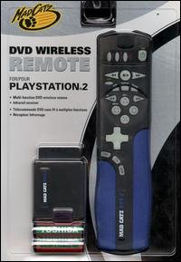MADCATZ 8241 DVD 2 Wireless Remote for PlayStation (Mad Catz Ps2 Wireless)
