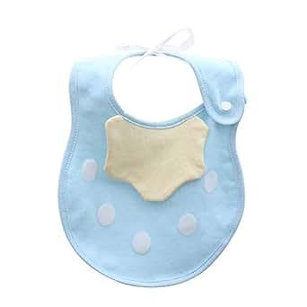 6 LAYERS SOFT COTTON WATER ABSORPTION NEWBORN BABY BIBS SALIVA TOWEL