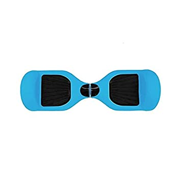 Skateflash Funda Silicona Hoverboard Azul: Amazon.es ...