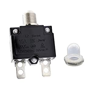 125//250V Circuit Thermal Breaker Thermal Protector For GeneratorQY