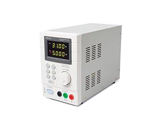 Velleman Lab ps3005dn Appareil d'alimentation de laboratoire programmable maximum é crans LED avec interface USB 2.0 Blanc/Gris LABPS3005DN